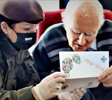 Wsparcie kombatantów w okresie przedświątecznym