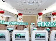 Specjalny lot EK2021 z w pełni zaszczepioną załogą i pasażerami