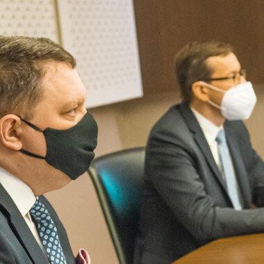 Premier Mateusz Morawiecki na odprawie kadry zarządzającej KGHM