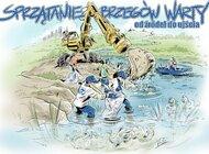 Uwolnij rzekę od śmieci - 24 kwietnia wielkie sprzątanie Warty