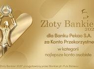 Złoty Bankier dla Banku Pekao za najlepsze konto osobiste