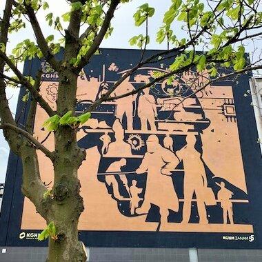 mural w Legnicy