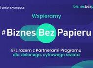 EFL partnerem akcji #BiznesBezPapieru