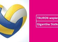 TAURON wspiera Gigantów Siatkówki
