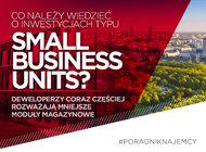 Co należy wiedzieć o inwestycjach typu Small Business Units?