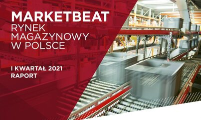 70% wzrost popytu r/r w I kw. 2021 r. na polskim rynku magazynowym