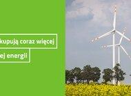 Firmy kupują coraz więcej zielonej energii
