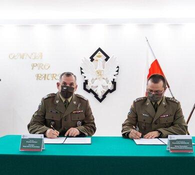 Podpisanie porozumienie pomiędzy WOT i WAT