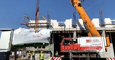Serce nowego źródła kogeneracyjnego MEC Piła (Grupa Enea) dotarło na budowę (1).jpg