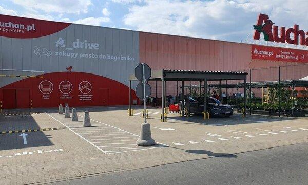 Auchan Drive Komorniki fot  1