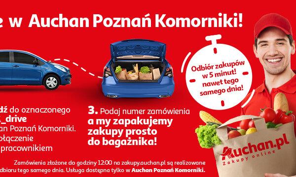 Auchan Drive Auchan Komorniki