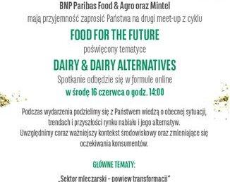 Food for the future - zaproszenie