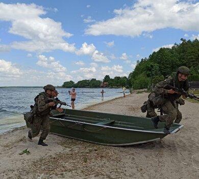 Żołnierze 4WMBOT w ćwiczeniu DRAGON21