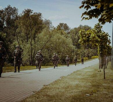Podlascy terytorialsi na ćwiczeniu DRAGON-21