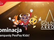 Kampania PeoPay KIDS nominowana w konkursie Golden Arrow 2021