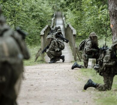 Szkolenie lubelskich Terytorialsów