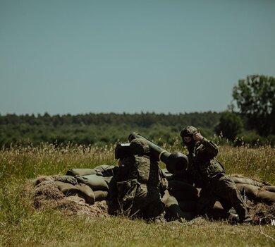 Pierwsze w polskim wojsku strzelanie z systemu JAVELIN