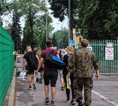 Powołanie ochotników do 1 Podlaskiej Brygady OT