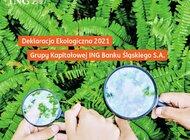 ING stawia nowe cele ekologiczne