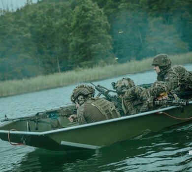 Łódzcy terytorialsi na poligonie