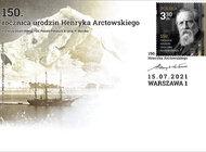 Henryk Arctowski, wybitny badacz polarny na nowym znaczku Poczty Polskiej