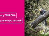 Energetycy TAURONA usuwają awarie po burzach