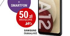 W Play płacisz mniej – abonament i smartfon już za 50 złotych miesięcznie - plakat Samsung.jpg