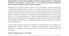 Woda w butelkach zwrotnych już w Carrefour!.pdf