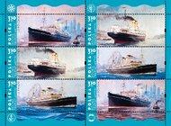 Transatlantyki na znaczkach pocztowych