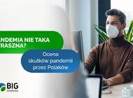 Pandemia nie taka straszna? Ma tyle samo plusów co minusów według co czwartego Polaka