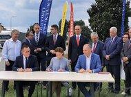 Podpisanie umowy na realizację drogi ekspresowej S6 na odcinku Leśnice – Bożepole Wielkie