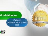 BIG InfoMonitor wyróżniony tytułem Business Superbrands