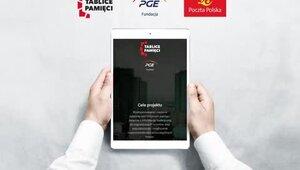 """Tablice Poczty Polskiej w aplikacji Fundacji PGE """"Tablice Pamięci"""""""