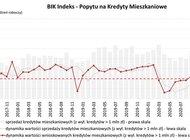 O 39,4% wzrosła wartość zapytań o kredyty mieszkaniowe – sierpniowy odczyt BIK Indeksu Popytu na Kredyty Mieszkaniowe
