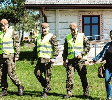 Żołnierze WOT na Lubelszczyźnie w operacji #SilneWsparcie