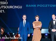 Bank Pocztowy uhonorowany nagrodą CESSIO 2021.