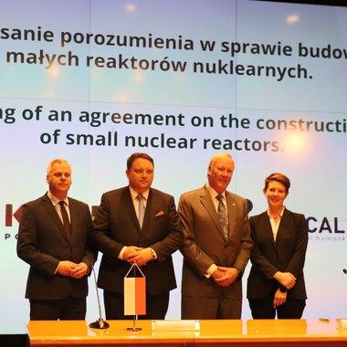 KGHM wybuduje pierwsze w Polsce małe reaktory nuklearne
