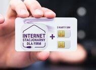 50 zł za dwie karty SIM i internet stacjonarny dla Firm
