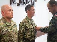 Brązowy Medal Wojska Polskiego przyznany brytyjskiemu podoficerowi