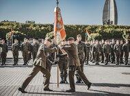 Przekazanie obowiązków dowódcy 3. Podkarpackiej Brygady OT