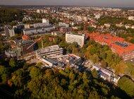 Wiecha na budowie Centrum Kompetencji STOS Politechniki Gdańskiej