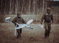 Kilkanaście dronów terytorialsów nad granicą.