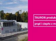 TAURON stawia na nowoczesne rozwiązania. Produkuje prąd i ciepło z metanu