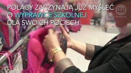 Polacy wydają coraz mniej pieniędzy na wyprawkę szkolną