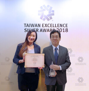 TWExcellence2018_2 Bill Su, Zyxel Smart Living Business Unit oraz Irene Tsai.jpg