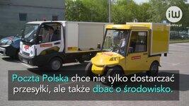 Test dostawczych pojazdów elektrycznych w Poczcie Polskiej.mov