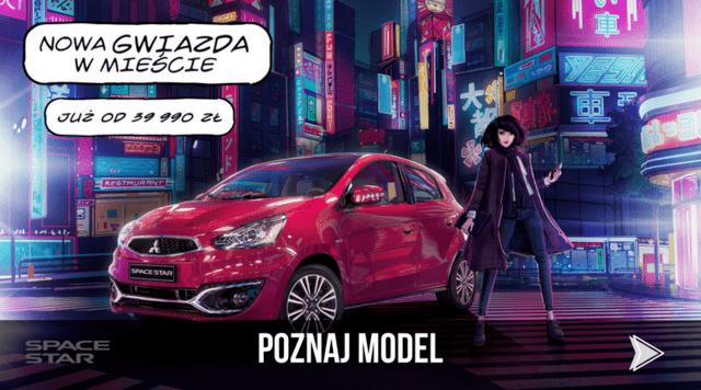 POZNAJ MODEL MITSUBISHI SPACE STAR