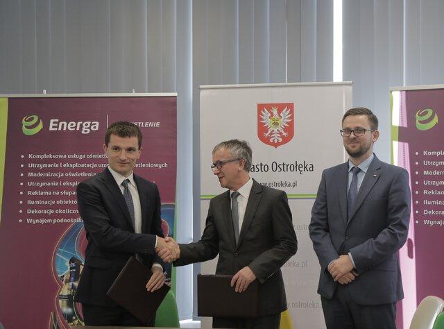 Zarząd Energi Oświetlenie i Prezydent Ostrołęki.jpg