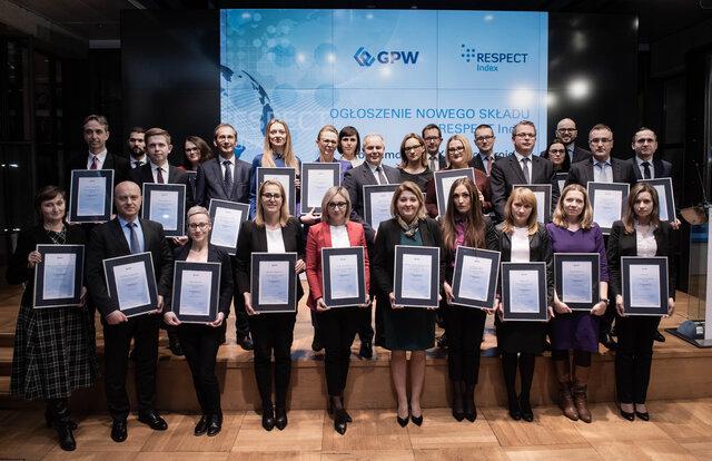Grupa Energa w składzie indeksu spółek odpowiedzialnych społecznie (RESPECT Index)