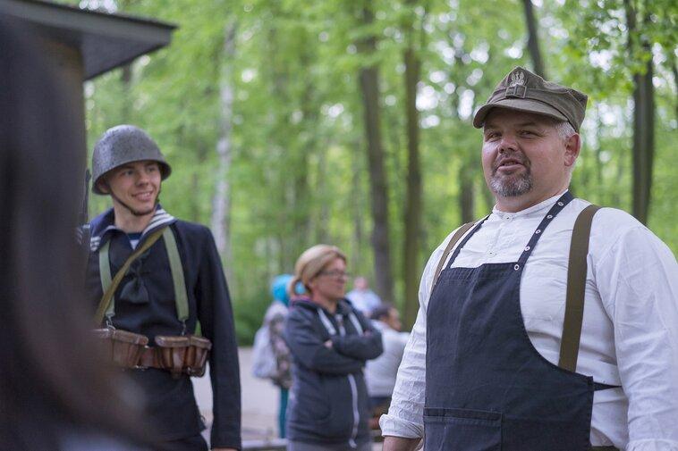 Na Westerplatte jest codziennie. Wojciech Minczykow - operator przy Wartowni nr na Westerplatte, fot preview